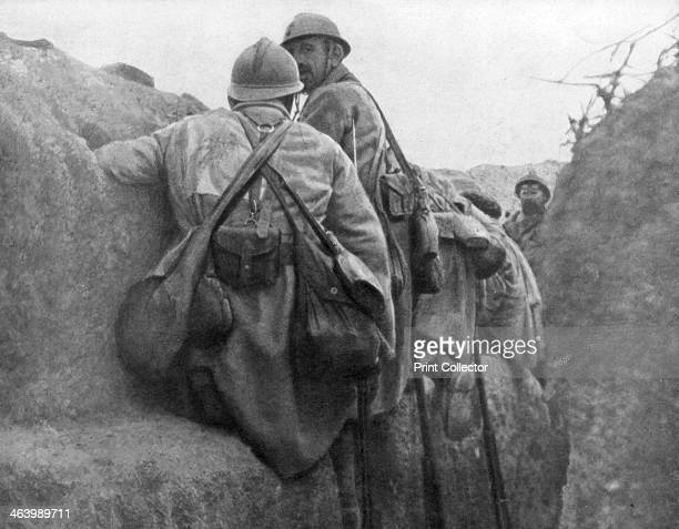A French trench before an attack 2nd Battle of Champagne France 25 September 1915 The French launched an offensive in Champagne on 25 September 1915...