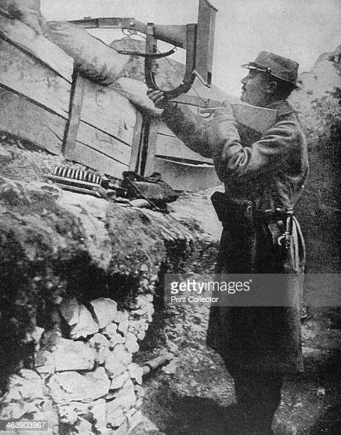 French trench periscope rifle 1915 A print from Le Pays de France 23 September 1915