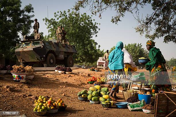 CONTENT] French troops from the 5/11 Transport Battalion in Mali on a mission to resupply Gao from their base in Bamako 1200km away Feb 01 2013 The...