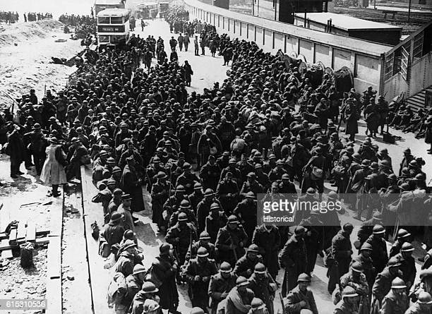 Thousands of French troops were plucked off of Dunkirk's beaches along with the British June 1940