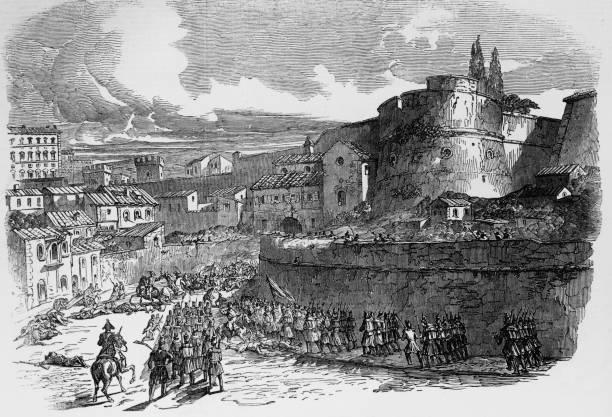 Siege Of Rome Wall Art