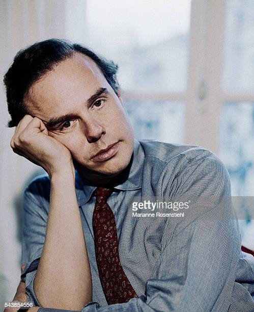 French TV Journalist and writer Frédéric Mitterrand