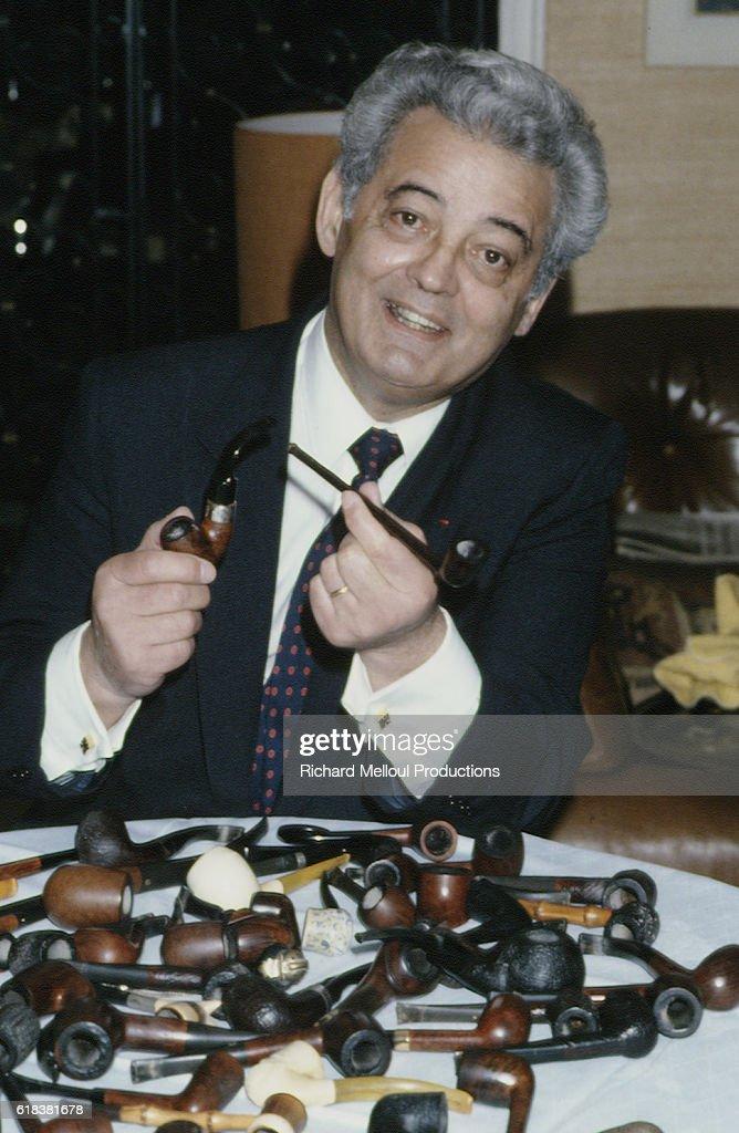 French Journalist Pierre Sabbagh : Photo d'actualité