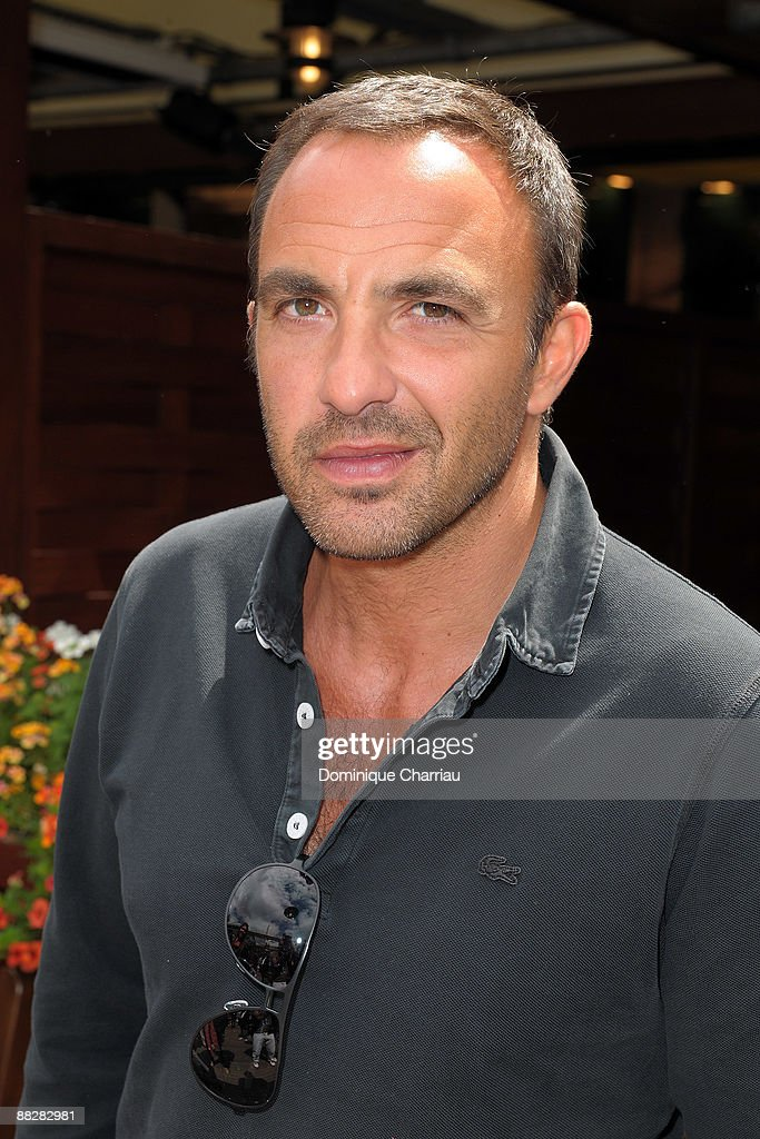 French TV Personality Nikos Aliagas attends The French Open 2009 at Roland Garros Stadium on June 7, 2009 in Paris, France.