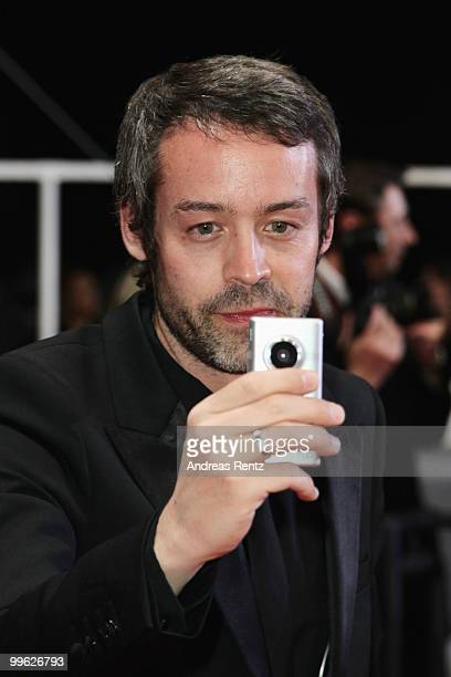 French TV personality Yann Barthes attends 'Black Heaven' Premiere at the Palais des Festivals during the 63rd Annual Cannes Film Festival on May 16...