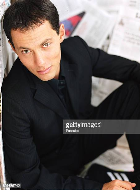 French TV presenter and journalist MarcOlivier Fogiel