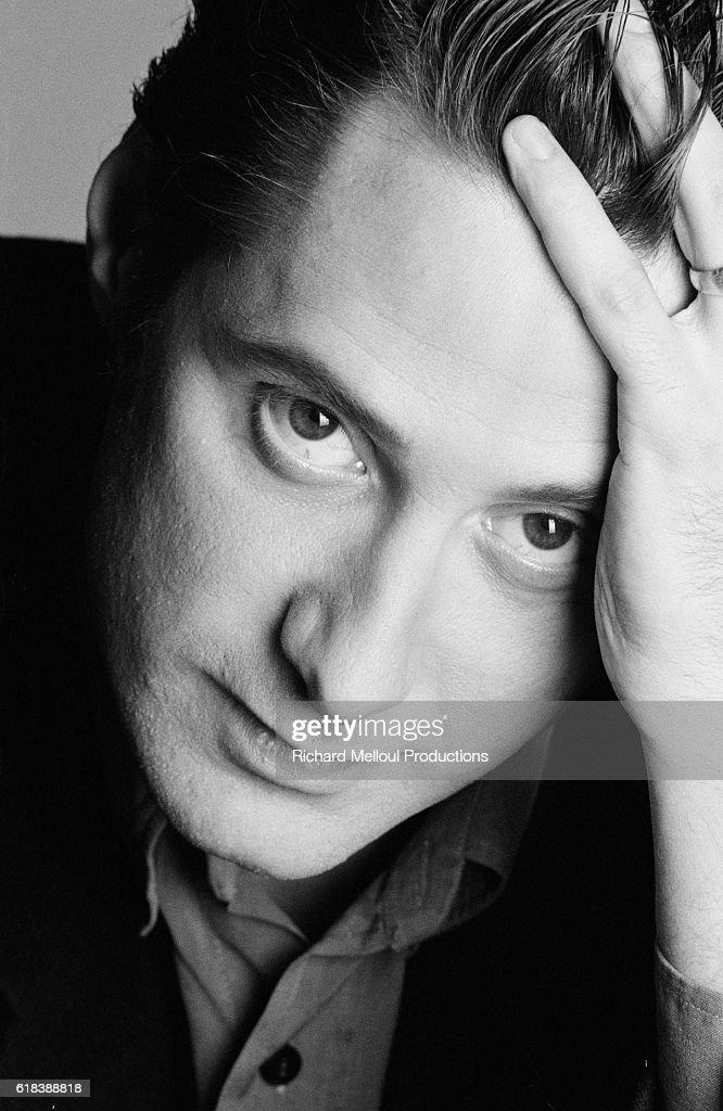 French Actor Antoine de Caunes : Photo d'actualité