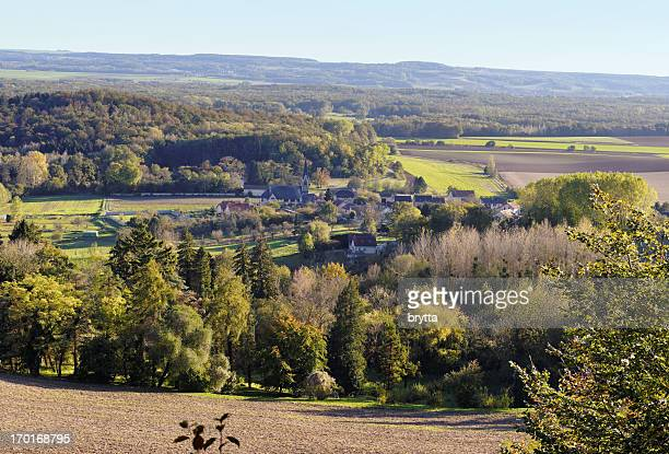 french village craonne and surrounding,picardy,france - hauts de france stock photos and pictures