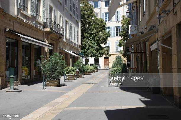 french village street - antibes fotografías e imágenes de stock