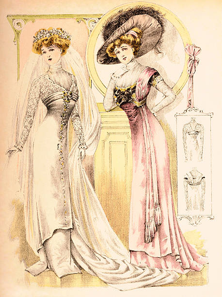 Vintage Fashion Illustration Pictures