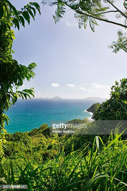 French West Indies, Guadeloupe, Les Saintes from Pointe Madame