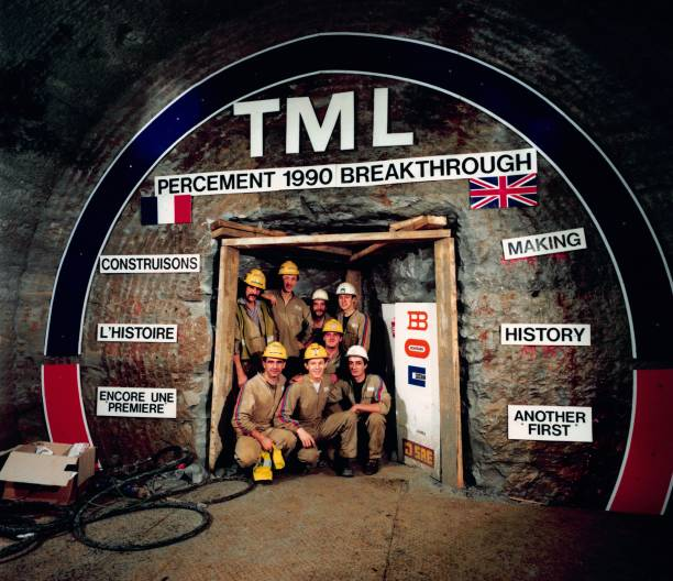 UNS: 1st December 1990 - Breakthrough In Construction Of The Channel Tunnel