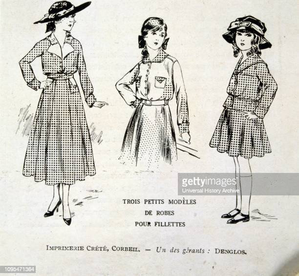 151e8e583 French World war one advert for women s clothing 1915