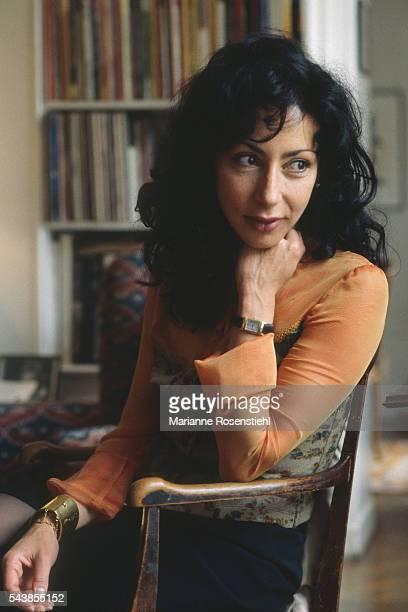 French Writer and Actress Yasmina Reza
