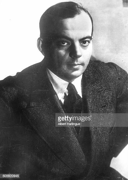 French writer and aviator Antoine de Saint Exupéry 1931
