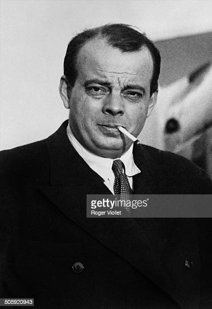 French writer and aviator Antoine de Saint Exupéry France May 1939