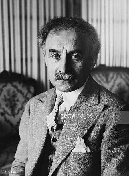 French writer and politician Abel Bonnard at his home a week before taking up his seat in the Academie Francaise 1932 During the German occupation of...