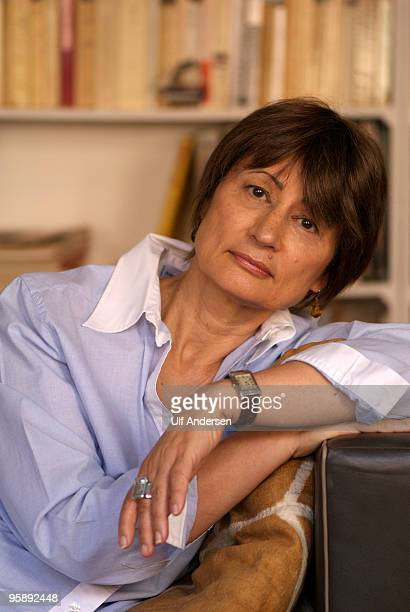French writer art critic curator and founder and editor of the magazine Art Press which focuses on modern art and contemporary art Catherine Millet...
