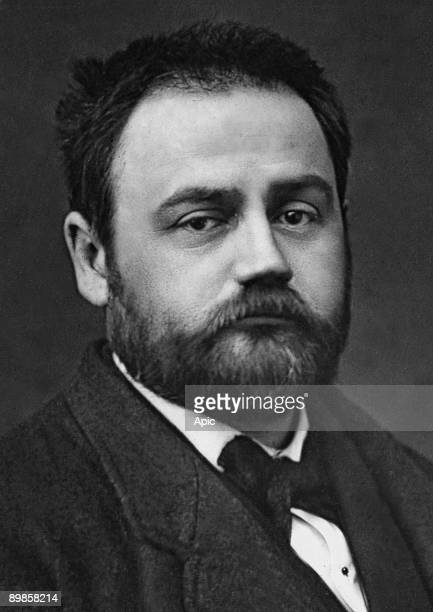 French writer Emile Zola here at the age of 30 years old in 1870