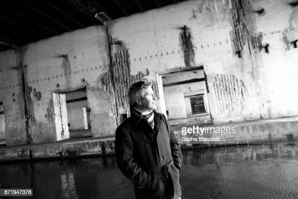 French writer Eric Vuillard, winner of the Prix Goncourt poses in Saint Nazaire, France, 17th November 2013