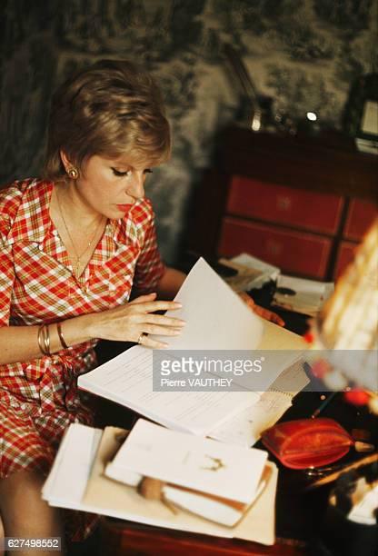 French Writer Francoise Dorin