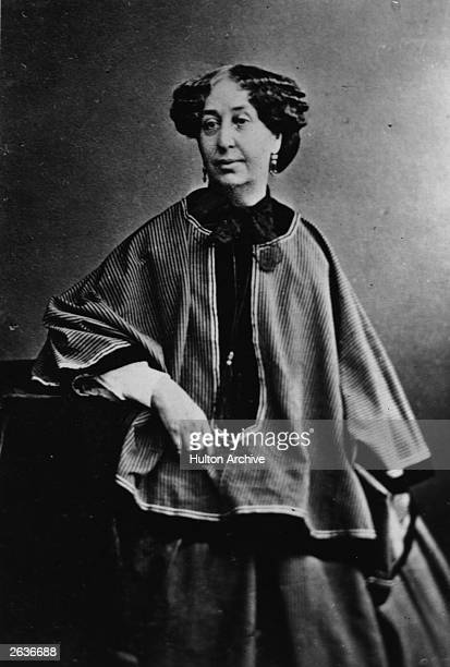 French writer George Sand pseudonym of Amandine Aurore Lucile Baronne Dudevant French novelist of the Romantic Movement