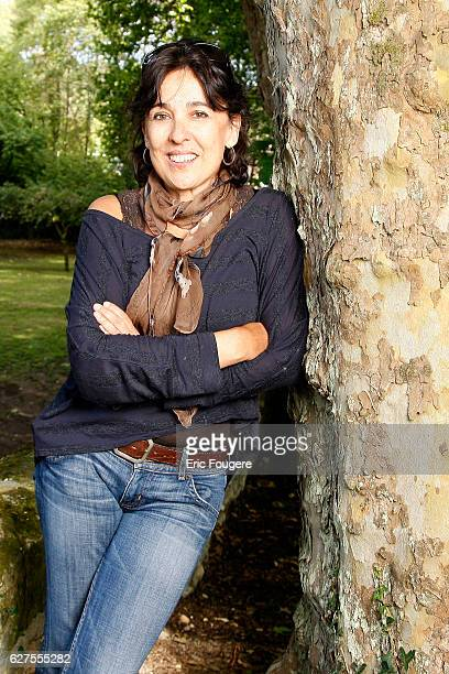 French writer Isabelle Alonso at la foret des livres in chanceaux près loche