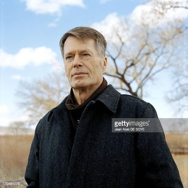 French writer Jean-Marie Le Clezio in Albuquerque, United States in 2006 - Indian reserve of Isleta in the border of Rio Grande.
