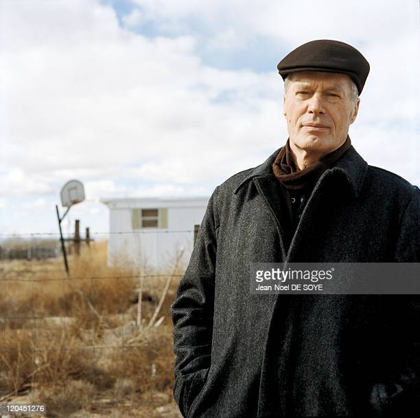 French writer JeanMarie Le Clezio in Albuquerque United States in 2006 Near Los Lunas not far from Albuquerque