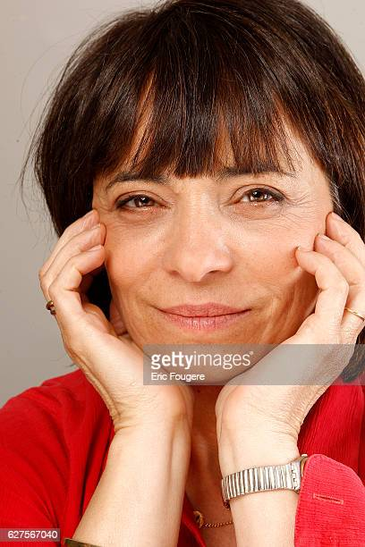 French writer Leslie Bedos Photographed in PARIS