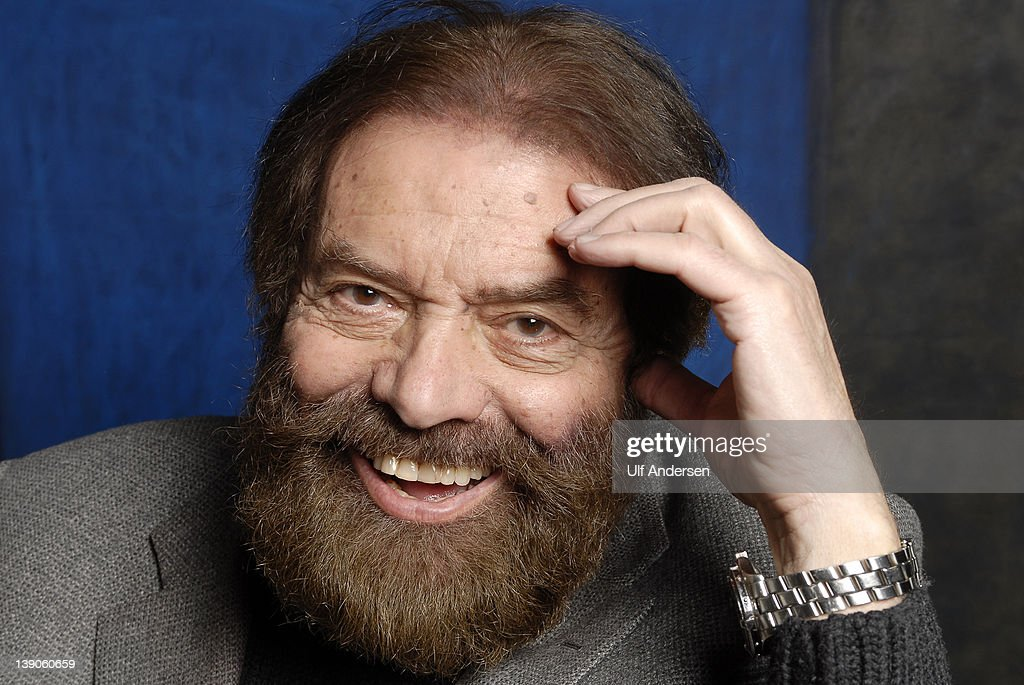French writer Marek Halter poses during a portrait session held on February 11, 2012 in Paris, France.