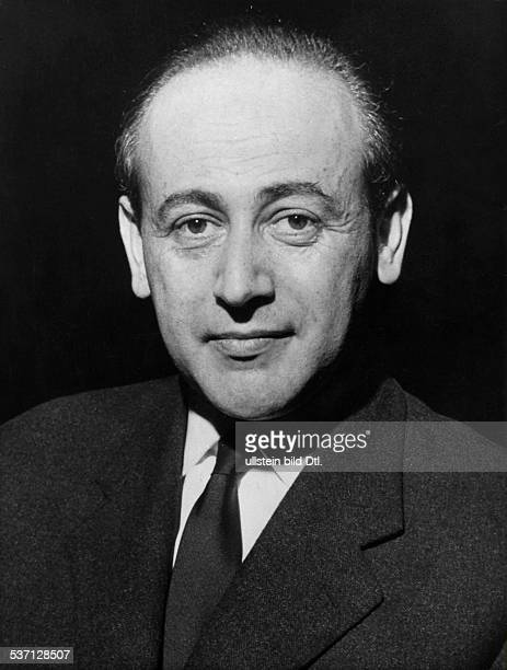 PAUL CELAN French writer Photographed in 1962