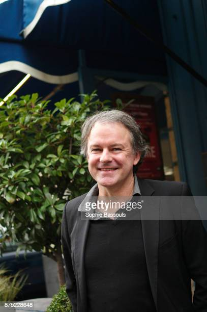 French Writer Yannick Haenel after receiving the Prix Medicis in Paris, 9th November 2017