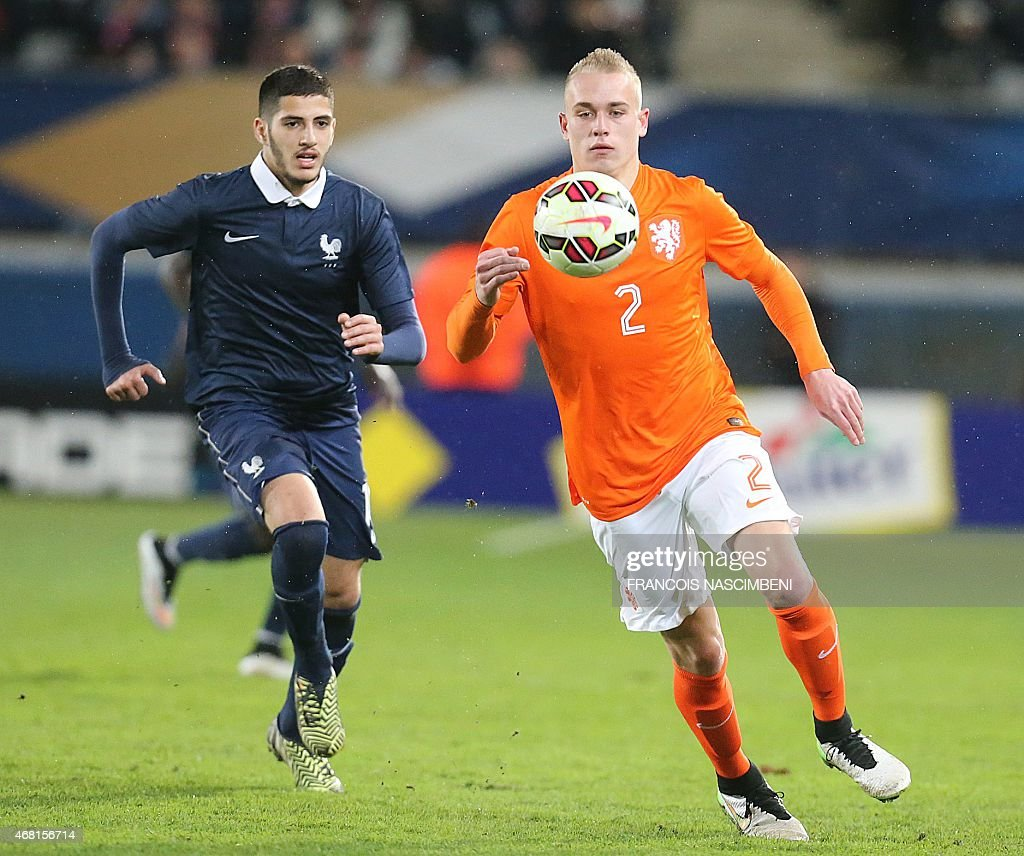 FBL-U21-FRA-NED-FRIENDLY : News Photo