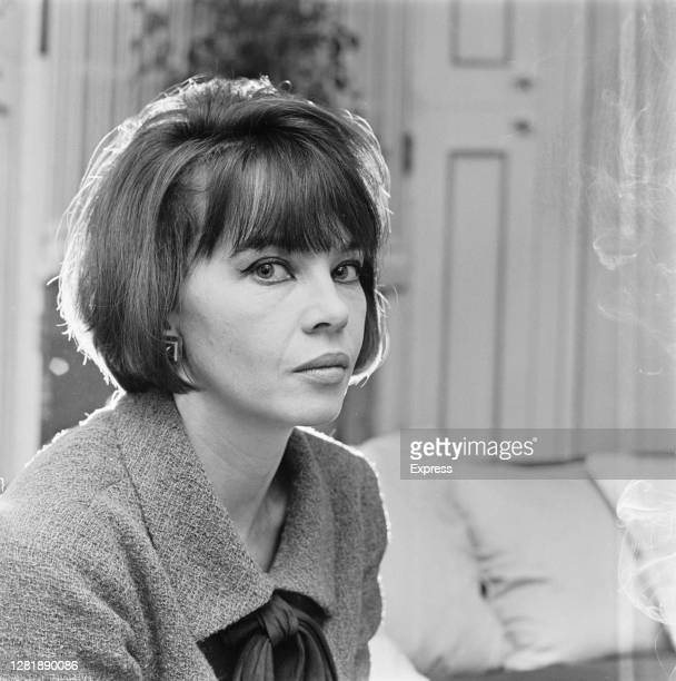 French-American actress and dancer Leslie Caron, 1st March 1966.