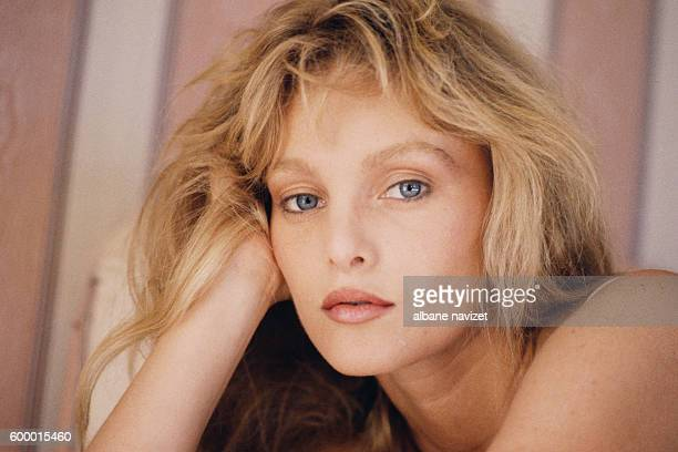 FrenchAmerican actress and singer Arielle Dombasle