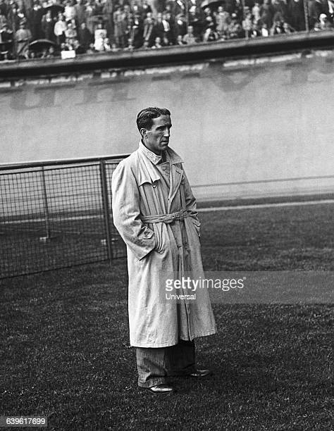 FrenchArgentine soccer player and manager Helenio Herrera