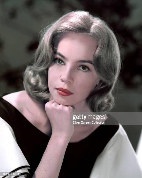 French-born actress Leslie Caron, circa 1955.