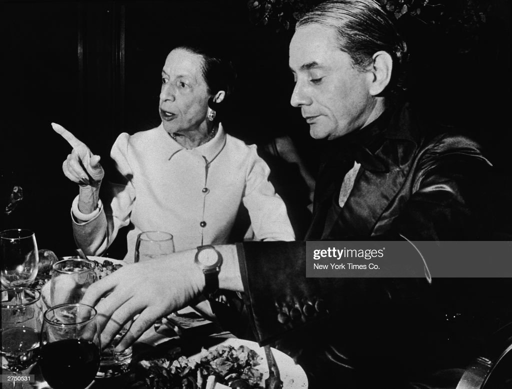 Diana Vreeland And Kenneth Lane : News Photo