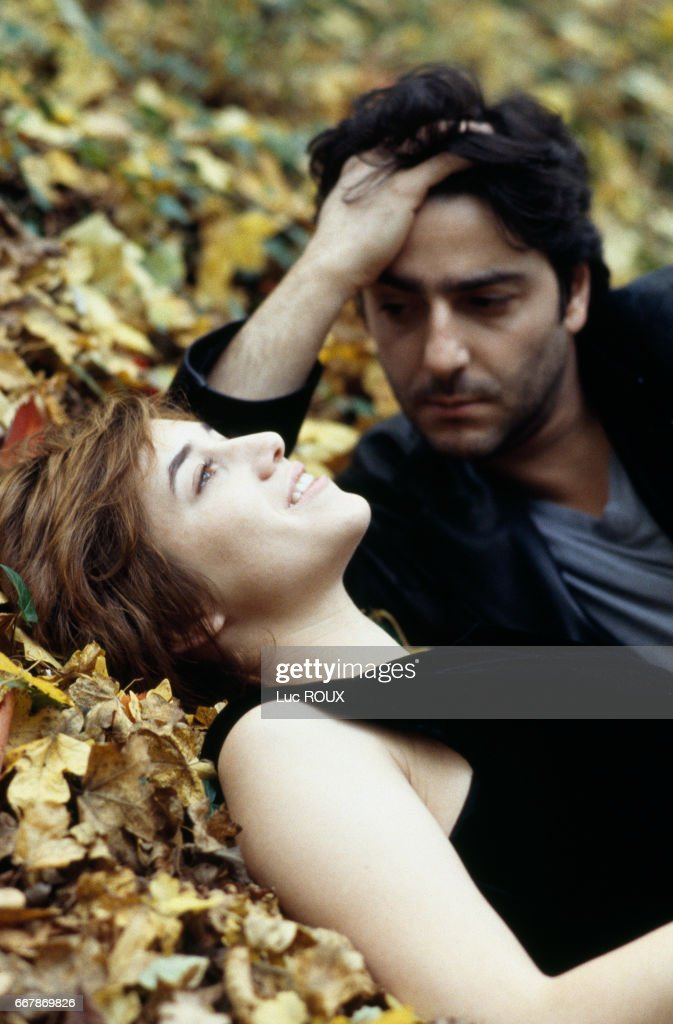 Charlotte Gainsbourg with Yvan Attal : News Photo