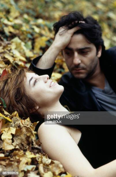 FrenchBritish actress and singer Charlotte Gainsbourg and her husband actor Yvan Attal