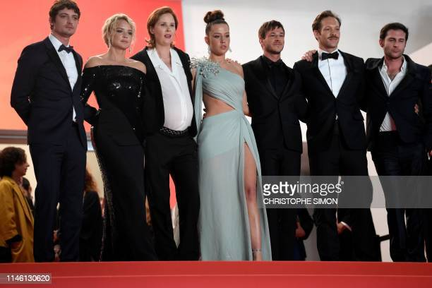 FrenchCanadian actor Niels Schneider Belgian actress Virginie Efira French film director Justine Triet French actress Adele Exarchopoulos French...