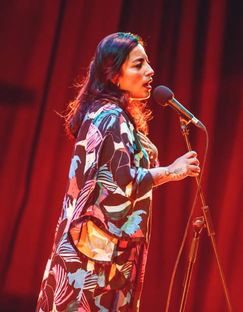ESP: Ana Tijoux Concert At 'Circulo De Bellas Artes'
