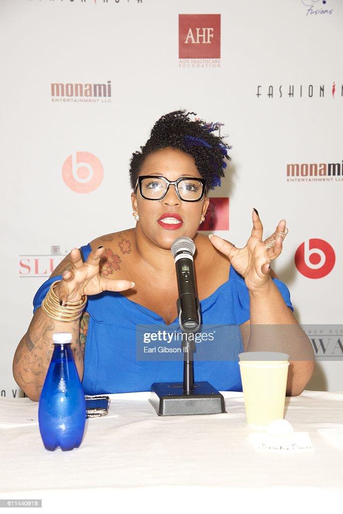 Frenchie Davis attends the SlutWalk Festival-Press Conference With Amber Rose and Perez Hilton at Four Seasons Hotel Los Angeles at Beverly Hills on September 29, 2016 in Los Angeles, California.