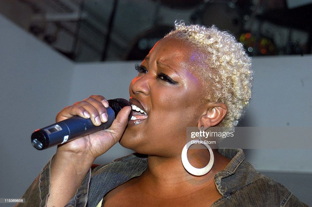 Frenchie Davis Performs at XL - September 20, 2004