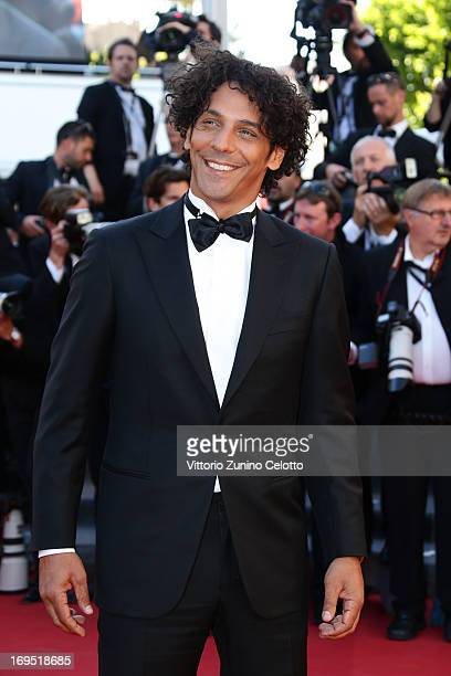 FrenchIsraeli actor Tomer Sisley attends the 'Zulu' Premiere and Closing Ceremony during the 66th Annual Cannes Film Festival at the Palais des...