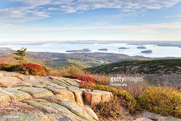 Frenchman Bay from Cadillac Mountain, Acadia National Park