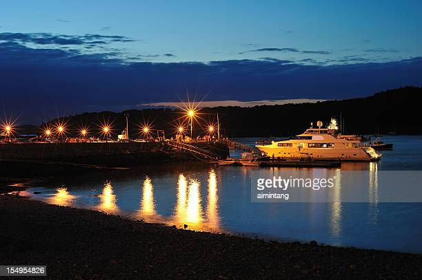 frenchman bay - bar harbor stock photos and pictures