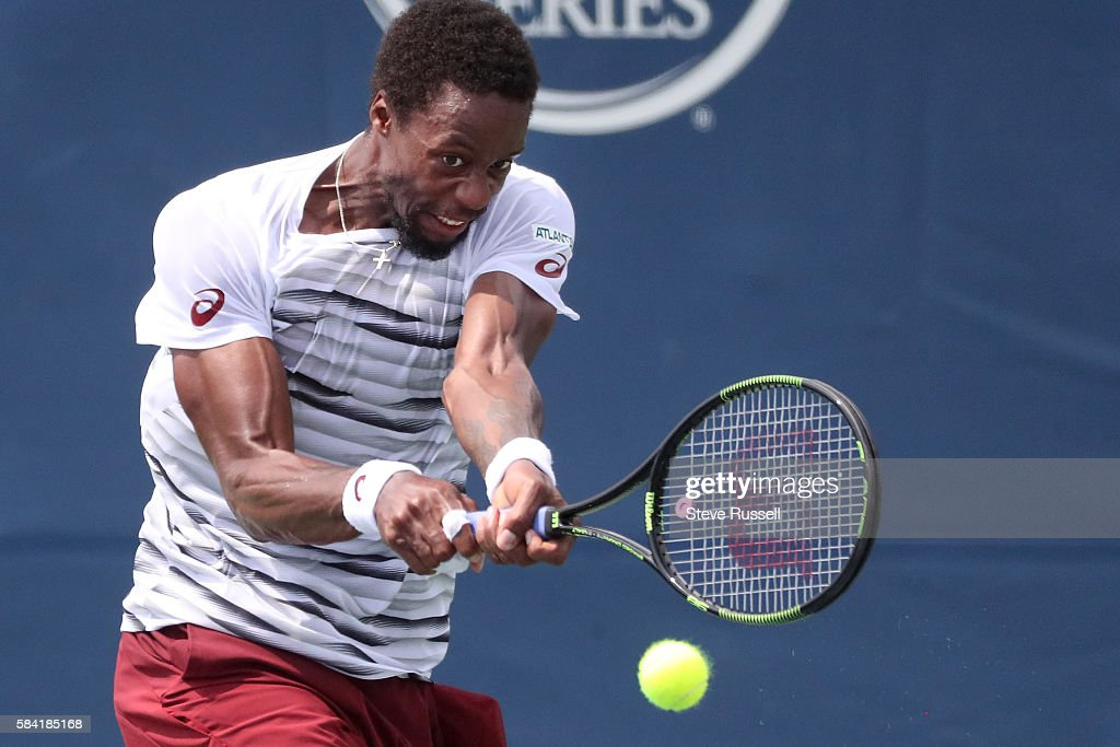 at the Rogers Cup ATP 1000 tournament : News Photo