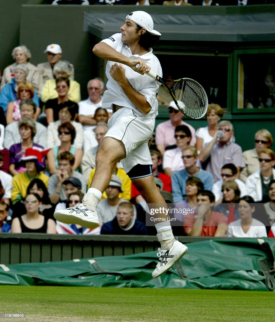 Wimbledon 2003 - Men's Quarterfinals - Sebastien Grosjean vs. Tim Henman